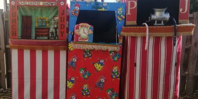 Which one of these 3 Theatres will Mr Punch choose for your party?